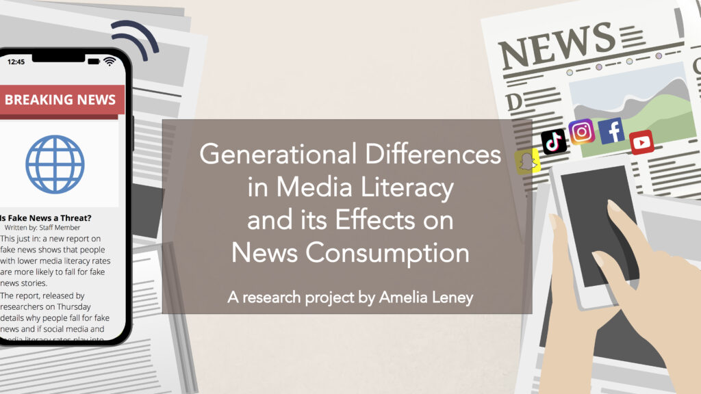 This is a website banner for Amelia Leney's Signify website. It reads