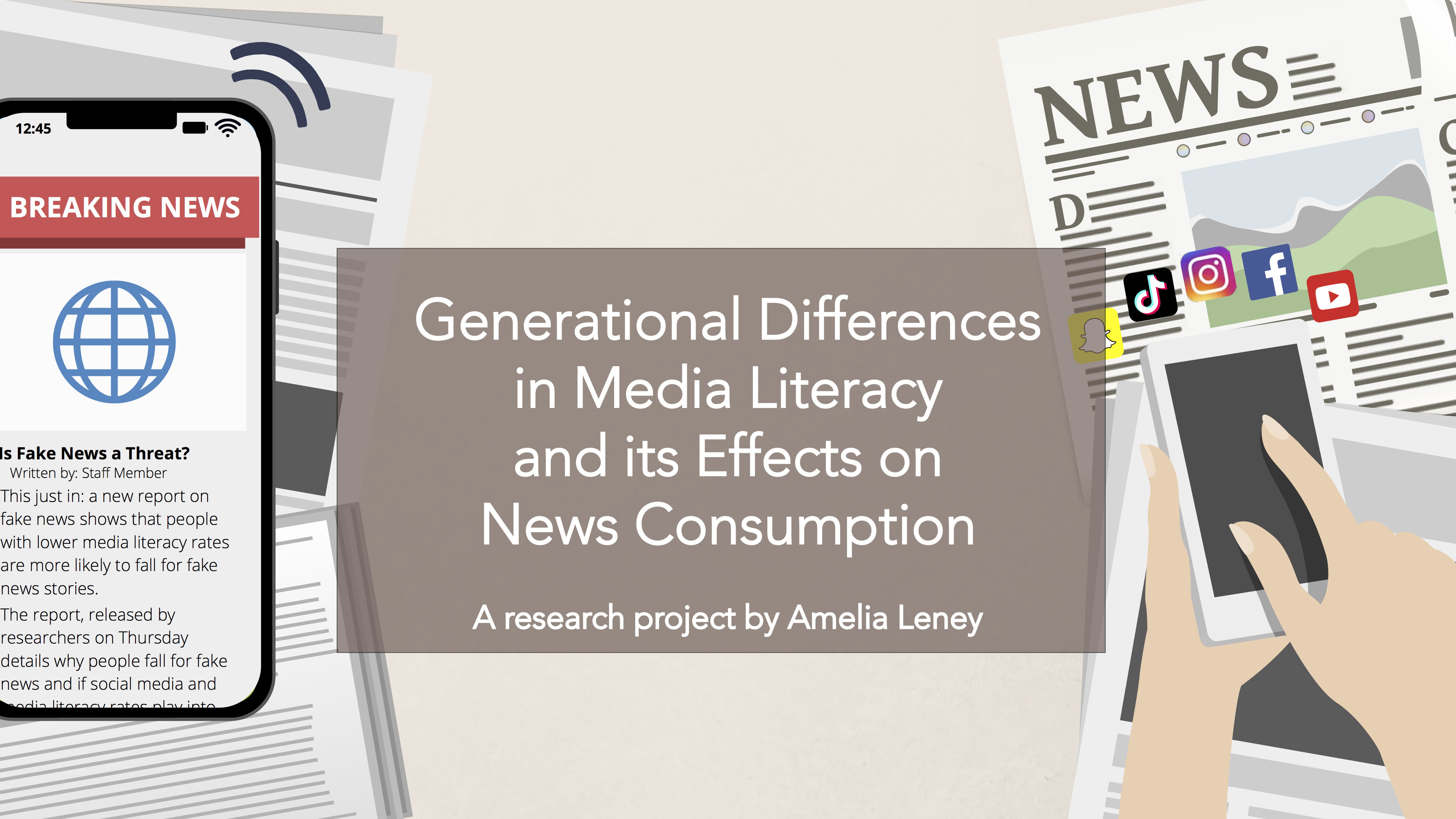 Generational Differences in Media Literacy and its Effects on News Consumption