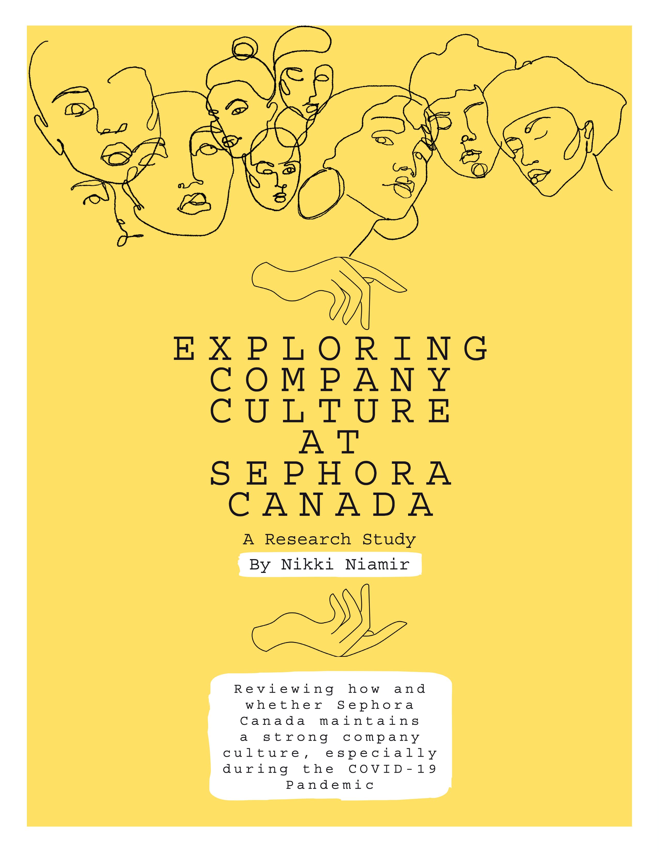 Exploring Company Culture at Sephora Canada