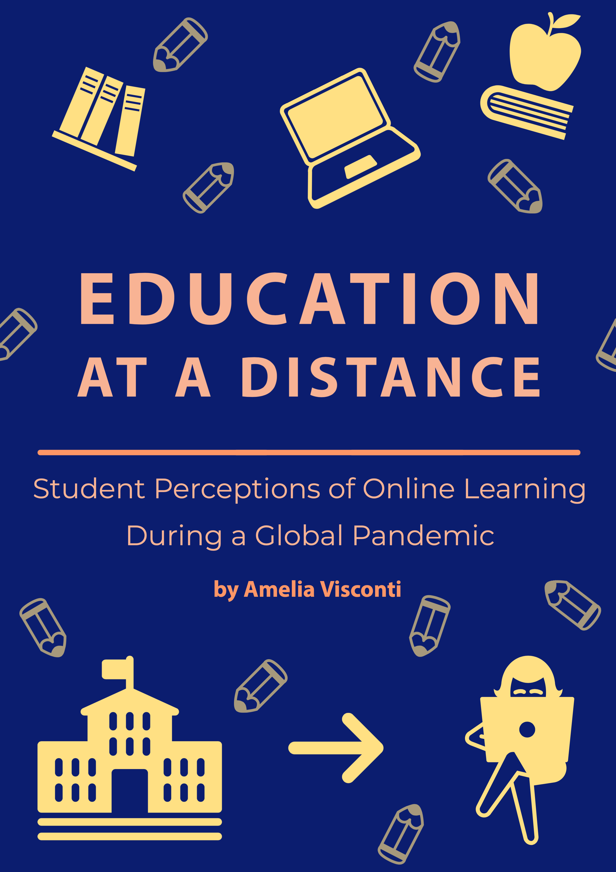 Education at a Distance: Student Perceptions of Online Learning During a Global Pandemic